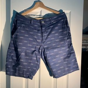 Shorts with light fabric material